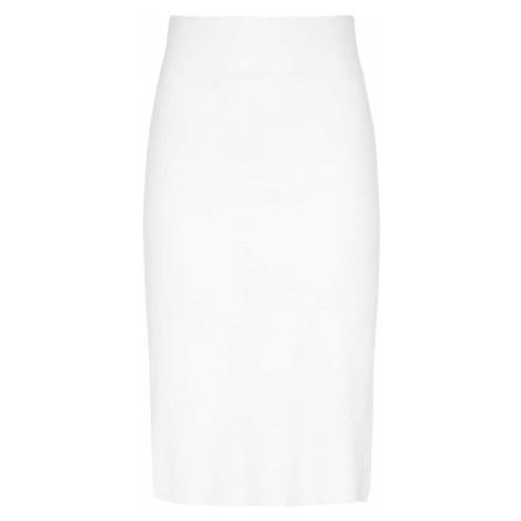 usha BLACK LABEL Sukňa  biela