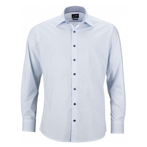 James & Nicholson Pánska luxusná košeľa Diamonds JN670