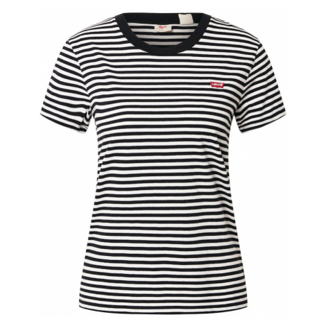 LEVI'S Tričko  čierna / biela Levi´s