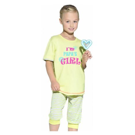 Detské bavlnené pyžamo s nápisom Bianka Taro