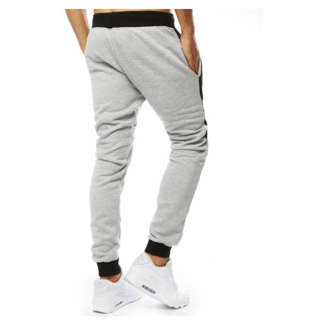 Men's sweatpants joggers anthracite UX2091 DStreet