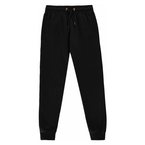 Firetrap Slim Joggers Junior Girls Black/Pink