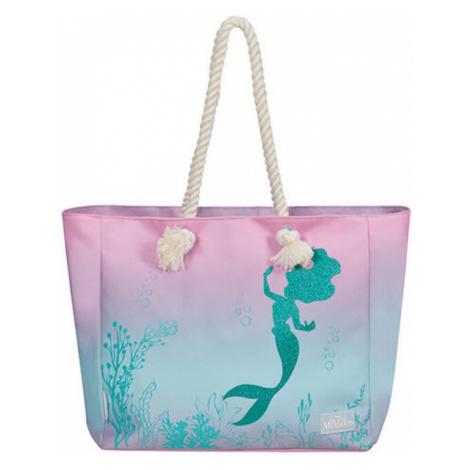 American Tourister Plážová nákupní taška Modern Glow Disney The Little Mermaid - The Little Mer