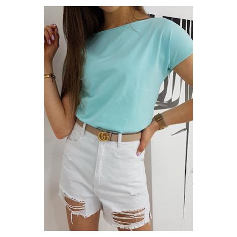 MORENO women's T-shirt mint RY1533 DStreet