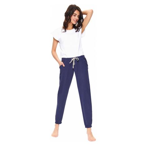 Tmavomodré pyžamové nohavice SPO9759