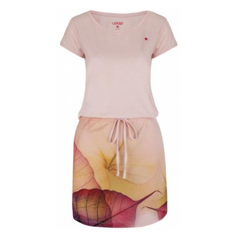 Loap ALYSA ružová - Dámske športové šaty