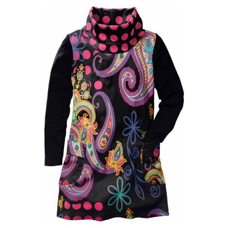 Šaty s dlhým rukávom bonprix