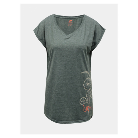 Šedé dámske tričko Hannah