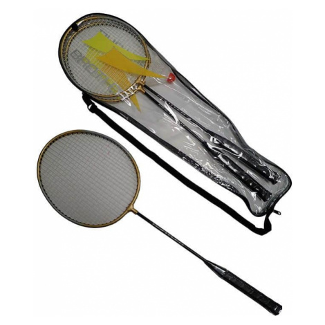ACRA Badmintonová sada - 2 rakety+ košíček + pouzdro