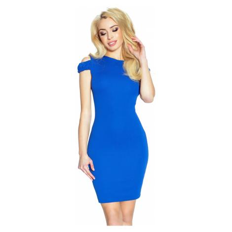 Modré šaty Sofia Bergamo