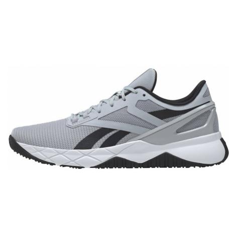 REEBOK Športová obuv 'Nanoflex TR'  sivá / čierna / biela