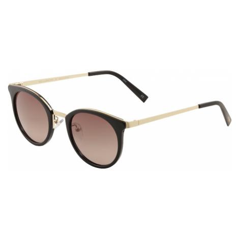 LE SPECS Slnečné okuliare 'NO LURKING'  zlatá / čierna