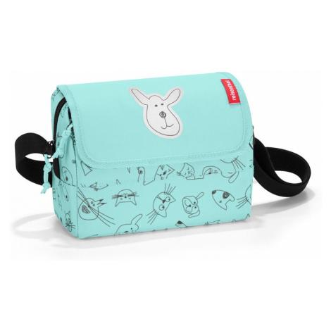 Taška Reisenthel Everydaybag Kids Cats and Dogs Mint