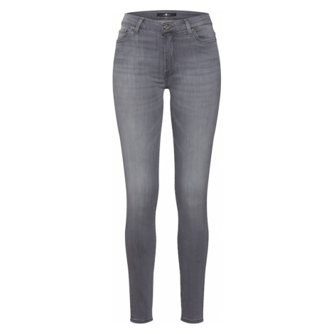 7 for all mankind Džínsy 'HW SKINNY SLIM ILLUSION LUXE BLISS'  sivá