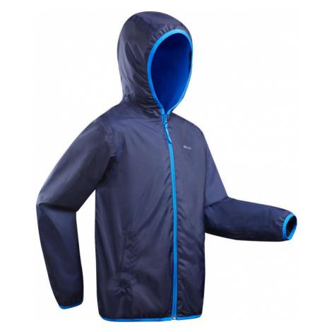 QUECHUA Detská Bunda Sh50 Warm Modrá