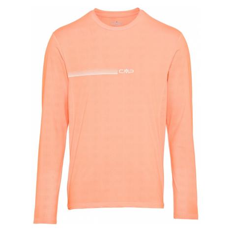 CMP Funkčné tričko  biela / koralová