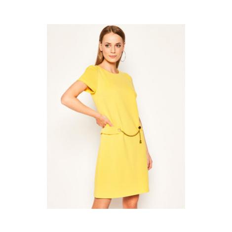 Luisa Spagnoli Každodenné šaty Moderata Žltá Regular Fit