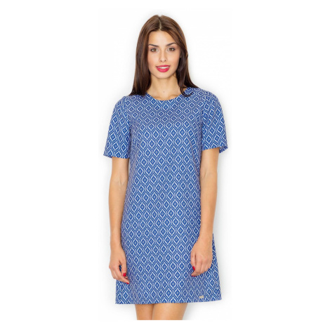 Figl Woman's Dress M519 wielokolorowy