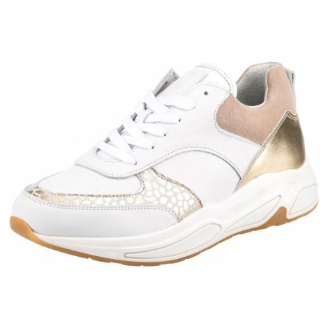 BULLBOXER Nízke tenisky  biela / púdrová / zlatá / sivá