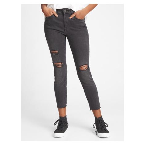 GAP čierne džínsy