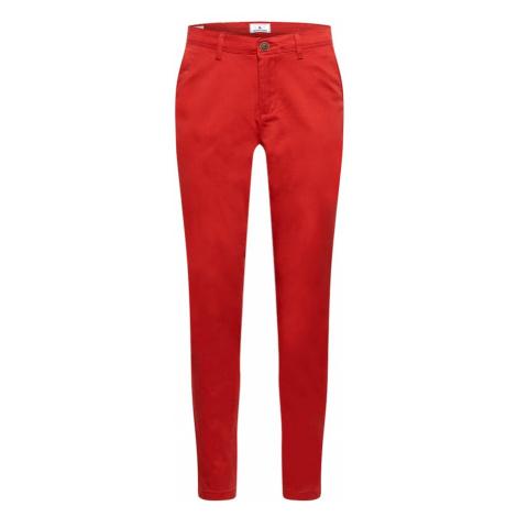 JACK & JONES Chino nohavice 'MARCO'  červená