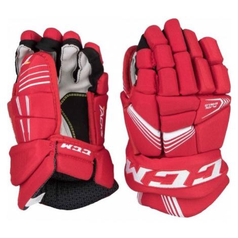 CCM TACKS 5092 JR červená - Detské hokejové rukavice
