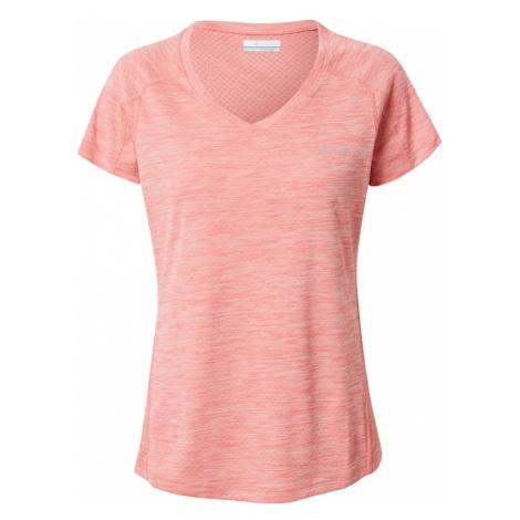COLUMBIA Funkčné tričko  lososová / sivá