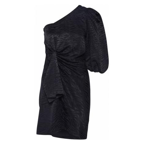 Designers Remix Kokteilové šaty 'Ruby'  čierna