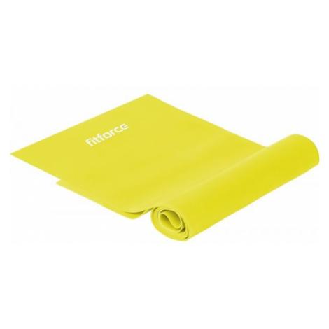 Fitforce EXEBAND žltá - Cvičebná guma