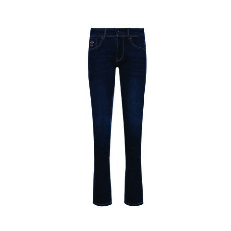 Pepe Jeans Slim fit džínsy Emerson PB201221 Tmavomodrá Slim Fit