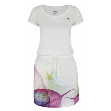 Loap ALYSA biela - Dámske športové šaty