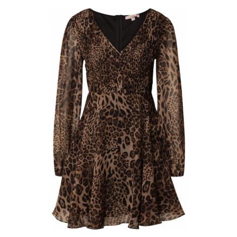 Skirt & Stiletto Šaty  karamelová / gaštanová / svetlohnedá