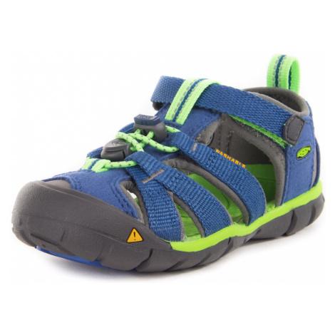Detské sandále KEEN SEACAMP II CNX K true blue/jasmine green