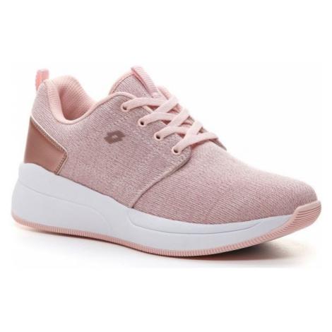 Lotto QUEEN AMF GLIT W ružová - Dámska obuv na voľný čas