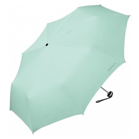 Esprit Skladací mechanický dáždnik Mini Alu Light Beach Glass