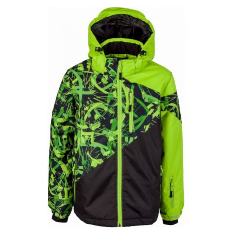 Lewro PHIL zelená - Chlapčenská zimná bunda