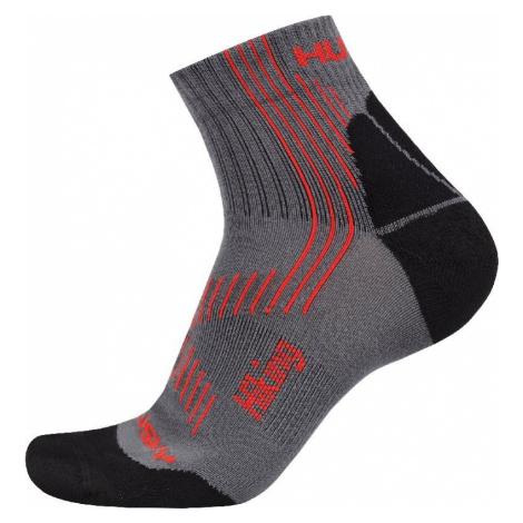 Husky Hiking New šedá/čierna, XL(45-48) Ponožky