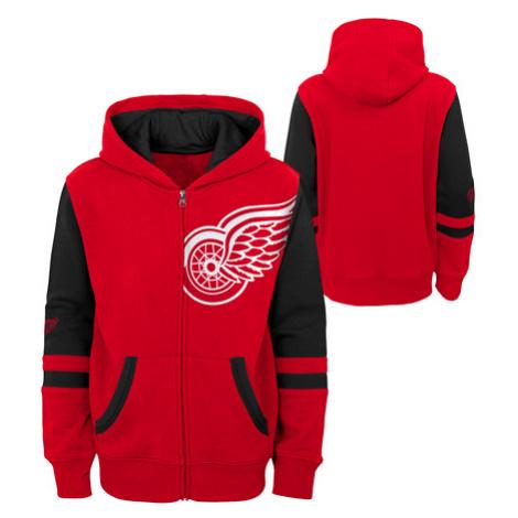 Detská Mikina S Kapucňou Outerstuff Face-Off Nhl Detroit Red Wings