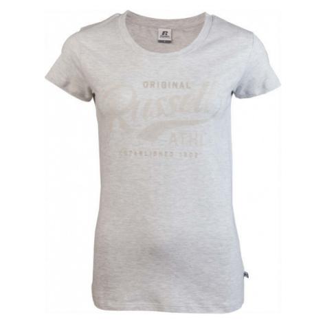 Russell Athletic ORIGINAL S/S CREWNECK TEE SHIRT šedá - Dámske tričko
