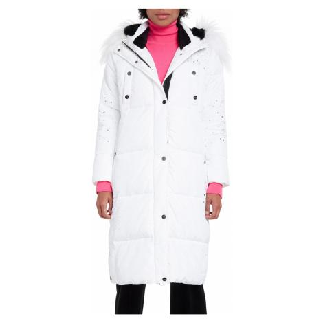 Desigual biely kabát Padded Katia