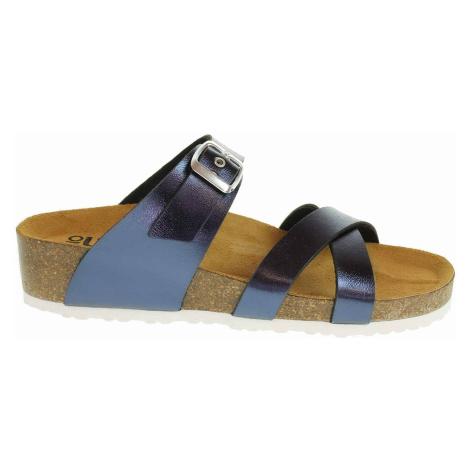 Dámské pantofle Bio Life 1841.07 blau Peggy 347 1841.07 blau Peggy 347