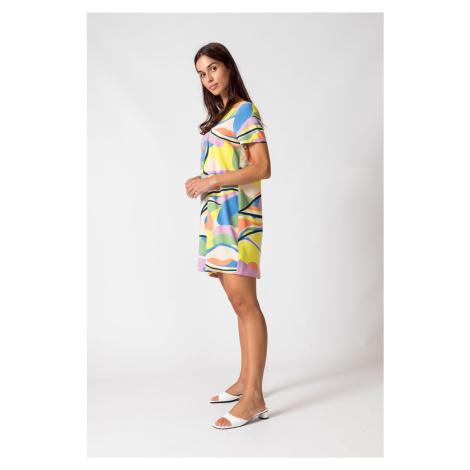 SKFK farebné šaty Kai Short