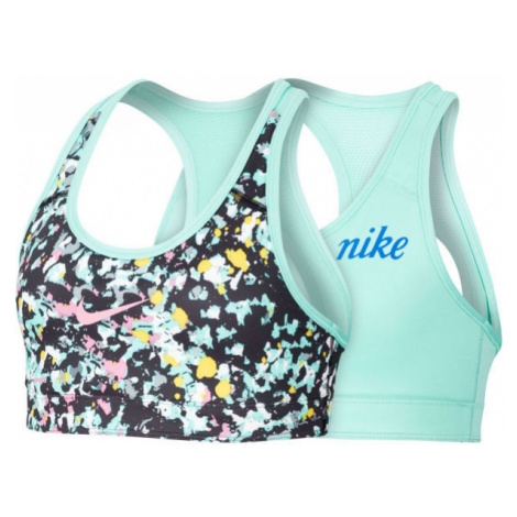 Nike CL REVERSIBLE BRA JDIY G čierna - Dievčenská obojstranná podprsenka