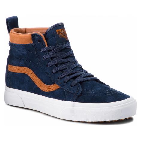 Sneakersy VANS - Sk8-Hi Mte VN0A33TXUCB (Mte) Suede/Dress Blues