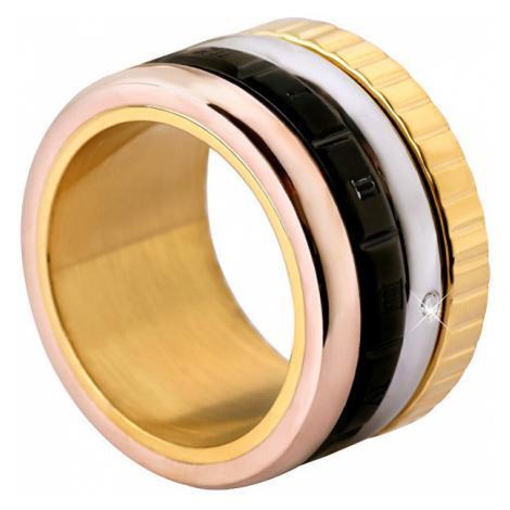 Troli Štvorfarebná oceľový prsteň mm