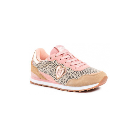 Pepe Jeans Sneakersy Belle Leopard PGS30418 Farebná