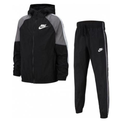 Nike NSW WOVEN TRACK SUIT B čierna - Chlapčenská športová súprava