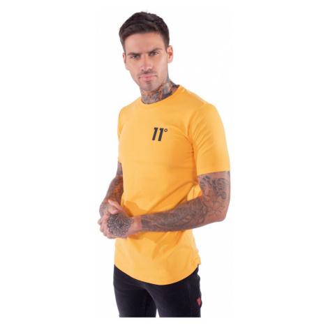 11 Degrees Muscle Fit T Shirt Saffron Orange