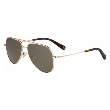 Stella McCartney Slnečné okuliare 'SK0021S-001 51'  zelená / zlatá