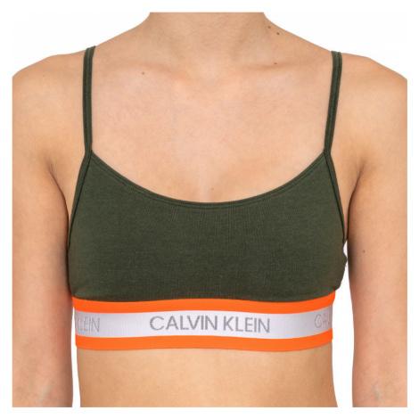 Dámska podprsenka Calvin Klein zelená (QF5459E-FDX)